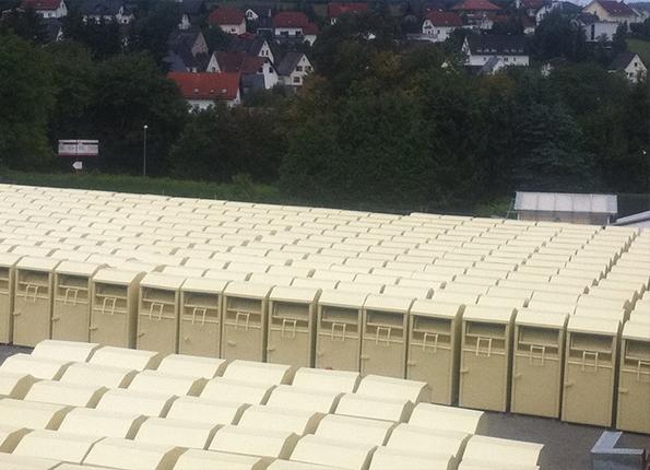 Аахен: тендер на исключительное и законное право установки контейнеров